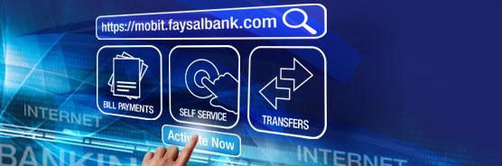 Mobit Internet Banking - Faysal Bank