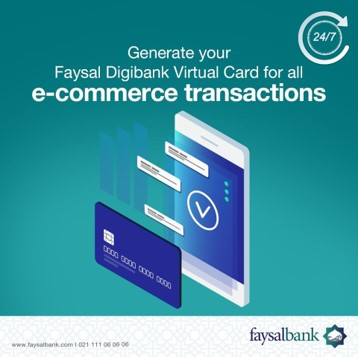 Virtual card for ecommerce transactions
